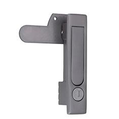PH-174KE-SUS/PH-174AE-SUS/ステンレス平面ハンドル シリンダー鍵付/鍵ナシ(非常解錠装置付)