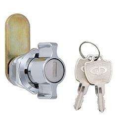 L-181/ダイカストT型カムロック 鍵付