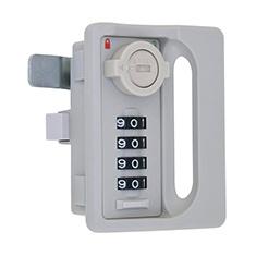 L-346/引手付4桁式コンビネーションロック オートリセットタイプ